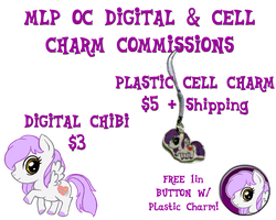 MLP OC Cellcharm Commissions by anotherclichejrocker
