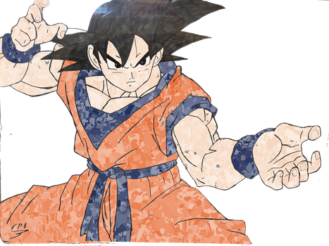 pinturas TH_goku by NEOcraver