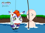 I caught myself a Gomamon base by HeroHeart001