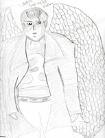 Dean Winchester...With wings by Gabriel-loki