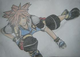 Sora - Prepared to Battle by kngdmhrts2
