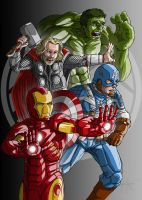 Avengers New by Muenchgesang