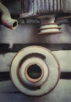 iPhoneography,  Frozen Wheel by Gerald-Bostock