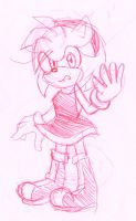 Amy rose by heitor-jedi