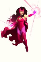 Scarlet Witch by xashe