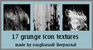 Grunge icon textures - set 2 by roughseas