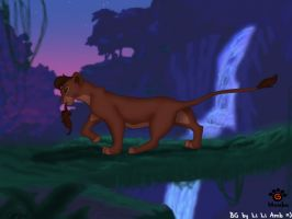 Shiiru in the jungle by Mayshha