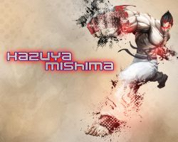 Kazuya Mishima Wallpaper (Street Fighter) by potterhead421