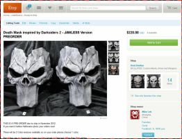 Death Mask Pre-Orders by Uratz-Studios