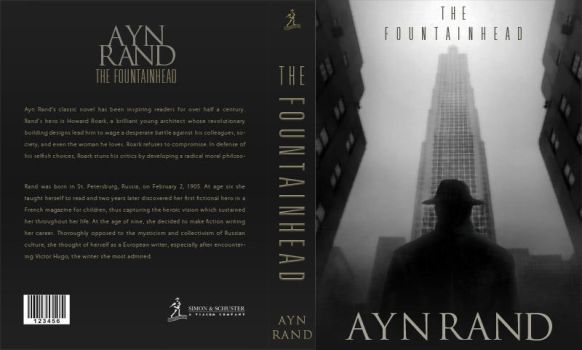 Ayn Rand Book Cover Art : Fountainhead explore on deviantart
