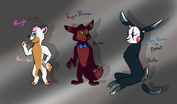 FNaF Crackship Adopts 3/3 (OPEN) by Koili