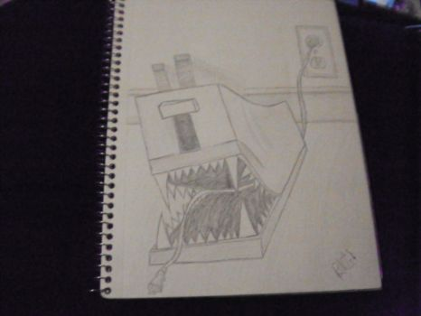 Evil toaster by TheGothBoss