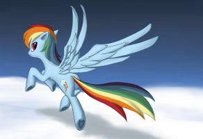 Rainbow Dash by dannylim86
