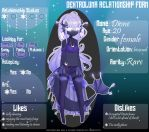 {Relationship Form} Dione by Elythe