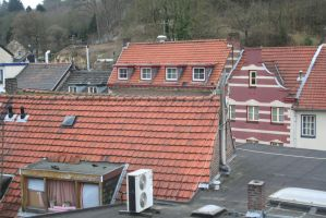 over the roofs from Valkenburg 16 by ingeline-art