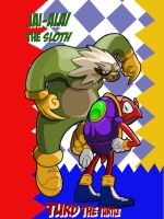 Sonic-Verse JAM : Jaiali the Sloth and Turd by SeanMcFarland