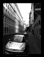 Budapest street by ibisal