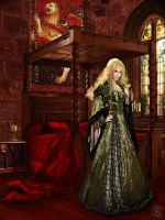 Cersei Lannister by BlackWolf-Studio