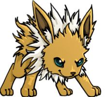 Jolteon by godofthewaffles0