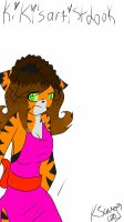 this is kikis artist look by Kittensaver2001