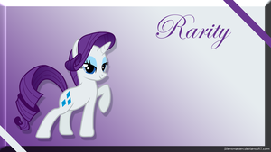 Rarity Wallpaper by Silentmatten