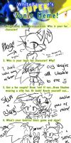 The SUPER sonic meme by ricaHama