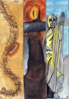 Lord Of the Rings Bookmarks by hatoola13