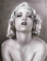 Carole Lombard by mwford
