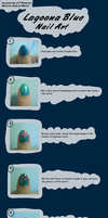 Lagoona Blue Nail Art Tutorial by VarietyChick