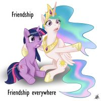 friendship everywhere by 1Jaz