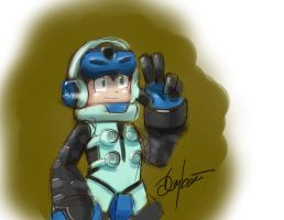 Mighty No. 9 by MegaDaniel