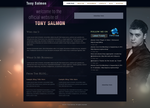 Tony Salmon Personal Page v2 by crazydevila