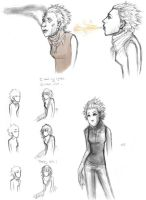 sketches. by rockedgirl