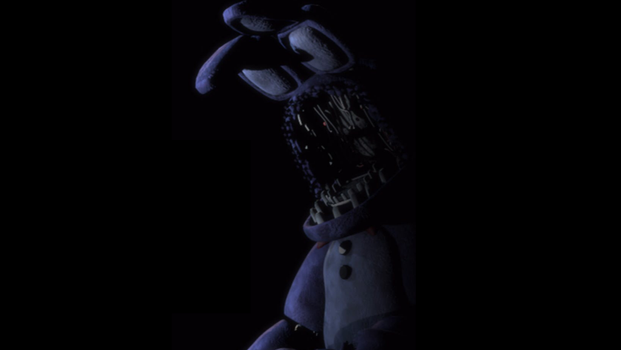 Withered Bonnie is here by Creeperrick