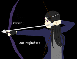 Zoe Nightshade, the Huntress by SnowyBubbles