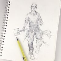 Tim Sketch | Swordplay cast 5/9 by Tvonn9