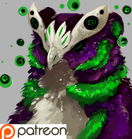 Patreon: 10$ tier prize by H-appysorry