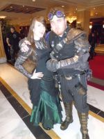 Katsucon 2013 - Steampunk and Vamp by LadyduLac