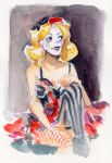 Life Drawing - Harley Quinn by StacyLeFevre