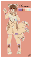 Sommer Adoptable (Closed) by xXMTeeXx