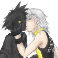 Kiss the dark - KH by mangacat
