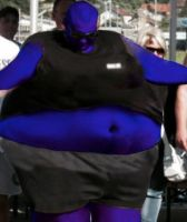 Big fat huge blueberry duded by Mrmusclebodybuilder