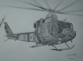 RNoAF Bell 412SP Arapaho by SindreAHN