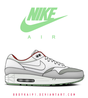 Nike Air Max 1 'Platinum' by BBoyKai91