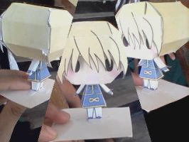 Kurapika Paper Craft! by xxDaisuki-Koixx