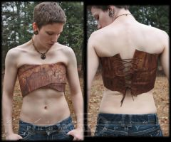 Pyramid Head Corset Wrap by kyphoscoliosis