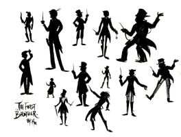 Silhouettes: Brother One by christy-mac