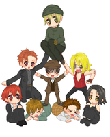 Baccano stack by Tofucakes