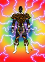 Mighty Morphin Power Rangers Zeo (Rainbow Ranger) by blueliberty