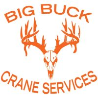 Big Buck Crane Services Logo Design by louVVis